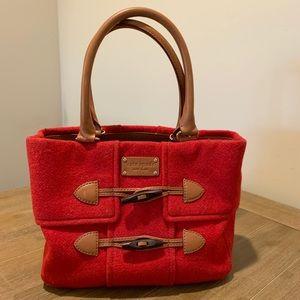Kate Spade Foxtrot Hill Quinn Wool-Toggle Handbag